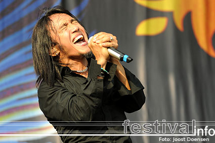 Journey op Graspop Metal Meeting 2009 foto