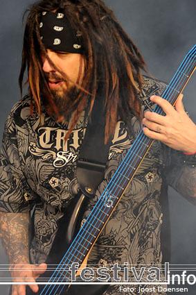 Korn op Graspop Metal Meeting 2009 foto