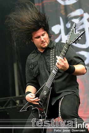 Trivium op Graspop Metal Meeting 2009 foto