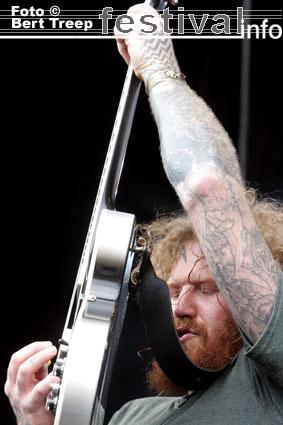 Mastodon op Rock Werchter 2009 foto