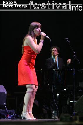 Lady Linn & Her Magnificent Seven op Rock Werchter 2009 foto