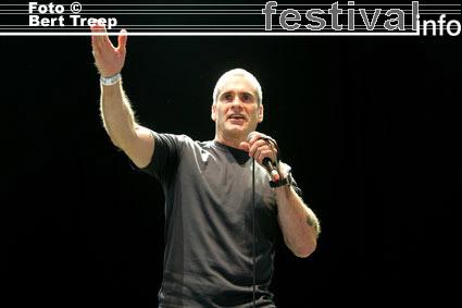 Foto Henry Rollins op Rock Werchter 2009