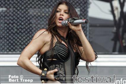 Foto Black Eyed Peas op Rock Werchter 2009
