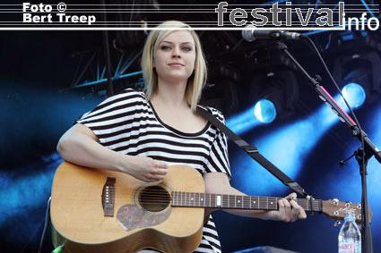 Amy Macdonald op Rock Werchter 2009 foto