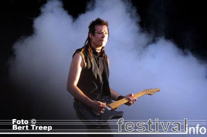 Nine Inch Nails op Rock Werchter 2009 foto