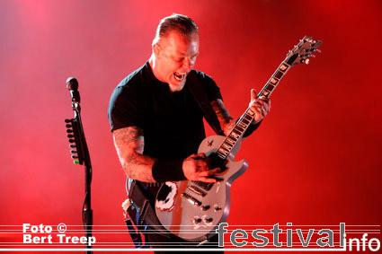 Foto Metallica op Rock Werchter 2009