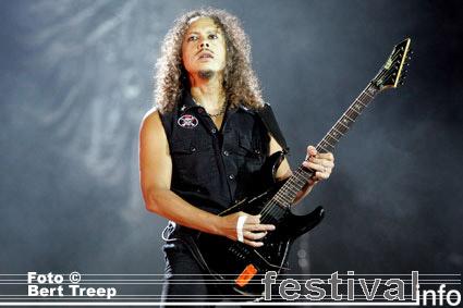 Metallica op Rock Werchter 2009 foto