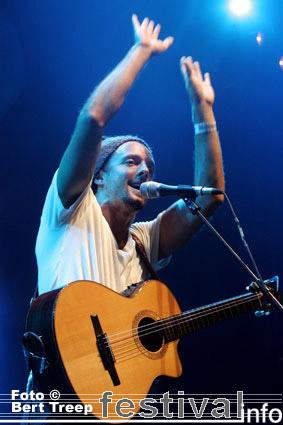 Jason Mraz op Rock Werchter 2009 foto