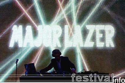 Foto Major Lazer op Roskilde 2009