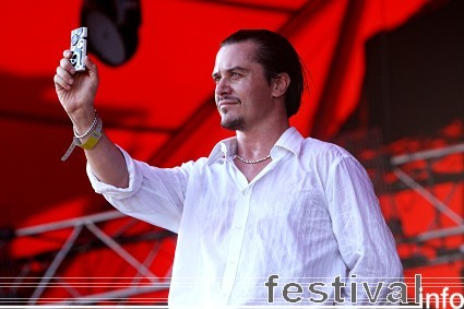 Faith No More op Roskilde 2009 foto