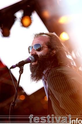 Nick Cave & the Bad Seeds op Roskilde 2009 foto