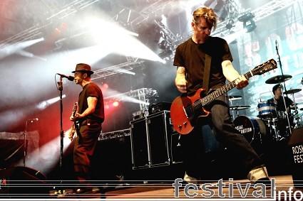 Social Distortion op Roskilde 2009 foto