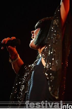 Lily Allen op Roskilde 2009 foto
