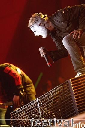 Foto Slipknot op Roskilde 2009