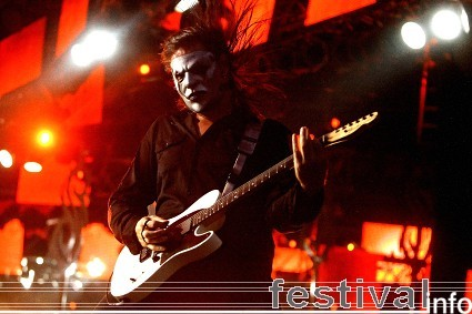 Slipknot op Roskilde 2009 foto