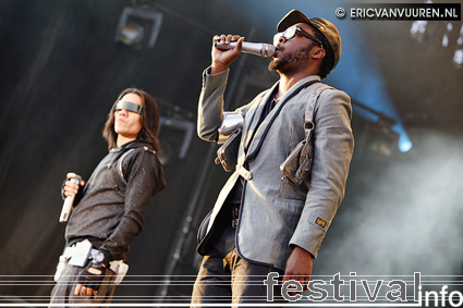 Foto Black Eyed Peas op TMF Awards Festival 2009