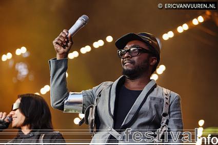 Foto Black Eyed Peas op TMF Awards Festival 2009