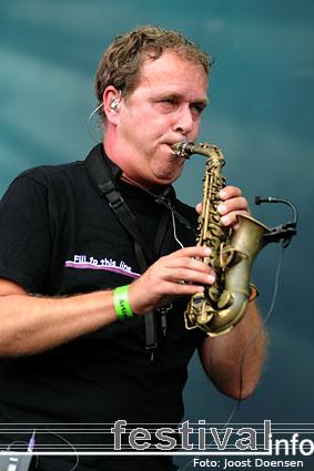 Guus Meeuwis op Bospop 2009 foto