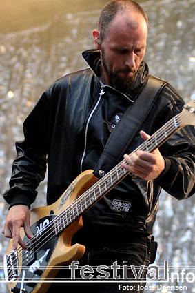 Guano Apes op Bospop 2009 foto