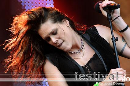 Foto Beth Hart op Bospop 2009