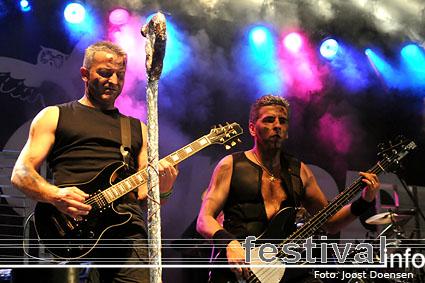 Foto Stahlzeit op Bospop 2009
