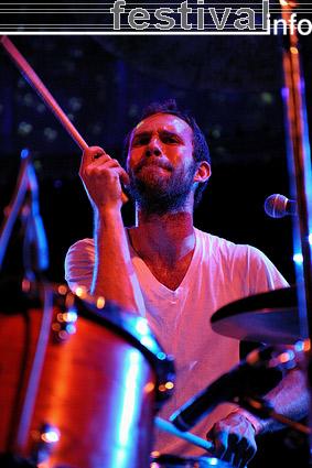 White Denim op Rawk 2009 foto