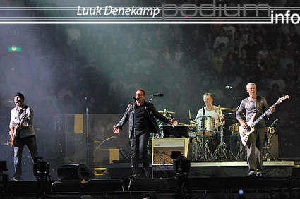 U2 op U2 - 20/7 - ArenA foto