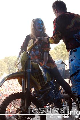 Motorband op Zwarte Cross 2009 foto