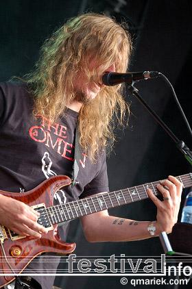 Opeth op Zwarte Cross 2009 foto