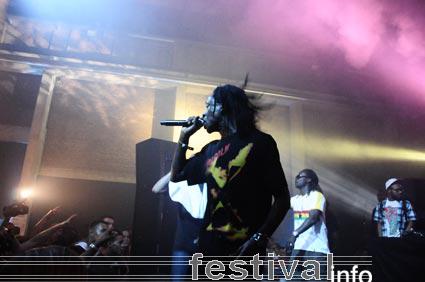 Foto Zwart Licht op Raw Rhythm 2009