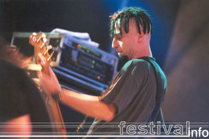 Foto Green Lizard op Artquake 2001 Foto's