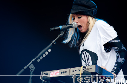 The Ting Tings op Sziget 2009 foto
