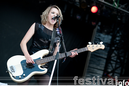 Foto The Subways op Sziget 2009