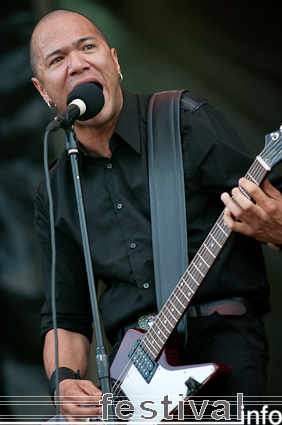 Foto Danko Jones op Sziget 2009