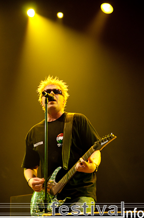 Foto The Offspring op Sziget 2009