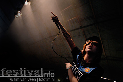 Lady Sovereign op Lowlands 2009 foto