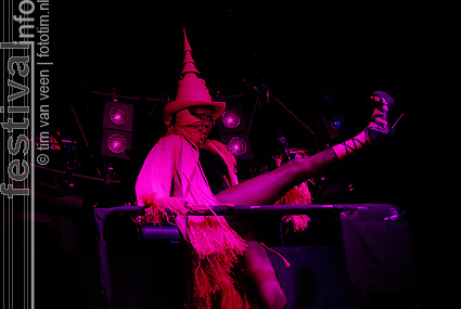 Foto Grace Jones op Lowlands 2009
