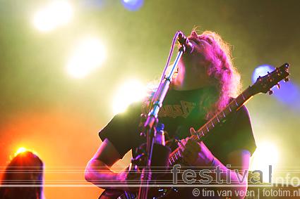 Opeth op Lowlands 2009 foto