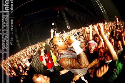 The Prodigy op Lowlands 2009 foto