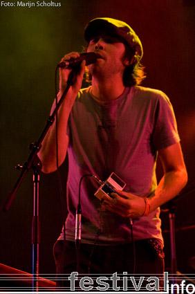 Foto Patrick Watson op Haldern Pop 2009