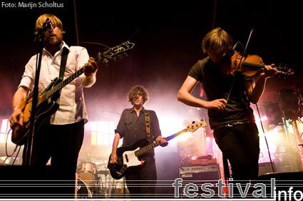 Broken Records op Haldern Pop 2009 foto