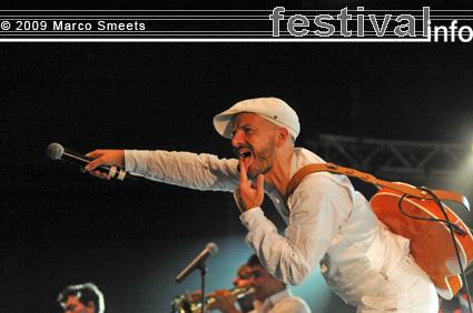 Foto Shantel & Bucovina Club Orkestar op Zomerparkfeest 2009