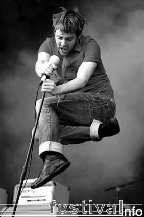Foto Kaiser Chiefs op Pinkpop 2005