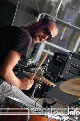 Kleazer op Geuzenpop 2009 foto