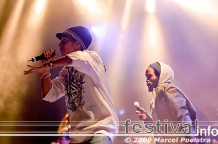 Foto Kyteman's Hiphop Orkest op Appelpop 2009
