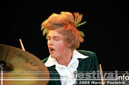 DeWolff op Appelpop 2009 foto