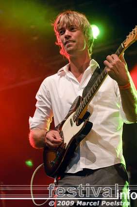 Alain Clark op Appelpop 2009 foto