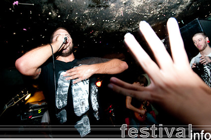 Misery Signals op Incubate 2009 foto