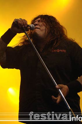 Testament op Dynamo Open Air 2005 foto