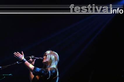 Foto Ilse DeLange op Ajoc Festival 2005